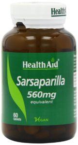 Sarsaparilla Kapseln in Dose