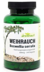 Weihrauch-Kapseln in Dose