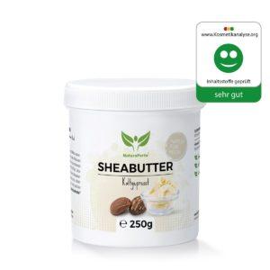 NaturaForte Shea Butter 250g auf weissem Grund