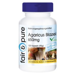 Agaricus Blazei 650mg (ABM, Agaricus Blazei Murill
