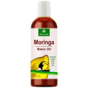 Moringa Öl Basic auf weissem Grund