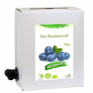 Bio Heidelbeersaft kaufen
